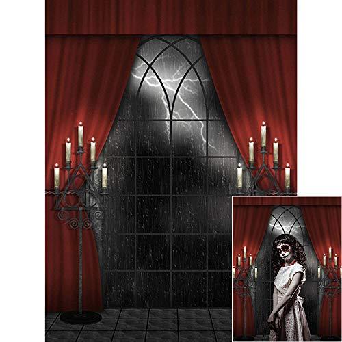 Fondo de fotografía de halloween, 1.5x2m BDDFOTO Fondo de halloween Fondo de fotografía...