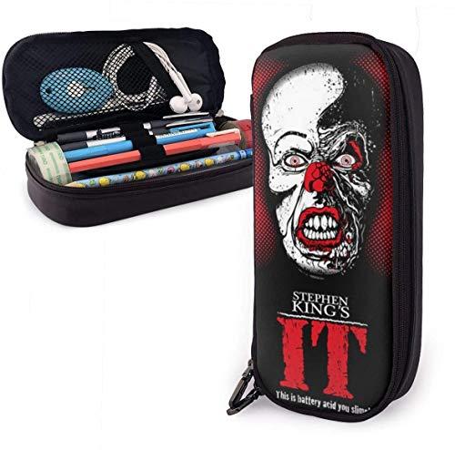 Estuches Oficina y papelería Stephen King's Unisex Child Pencil Case Pen Box Zippered Stationery...
