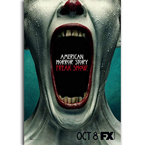 yhnjikl Carteles e Impresiones American Horror Story TV Movie Poster Canvas Canvas Wall Art Picture...