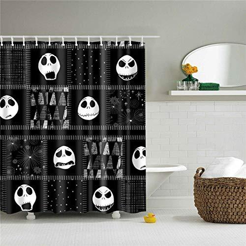 Axcomy Cortinas de Ducha, para baño, bañera, Impermeable, Resistente al Moho, Anti Moho y...
