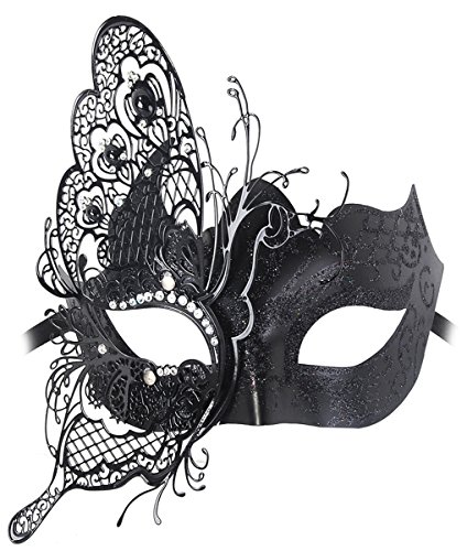Mascaras Venecianas, Coofit Mascara de Mujer Masquerade Máscara de Encaje Metal Mascaras Carnaval...