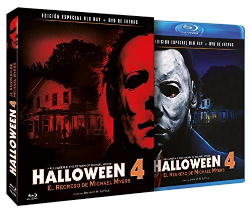 Halloween 4 - El Regreso de Michael Myers BD + DVD de Extras 1988 Halloween 4: The Return of Michael...