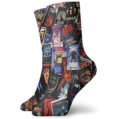 Vince Camu Película de terror Calcetines casuales unisex Los mejores calcetines locos Calcetines de...