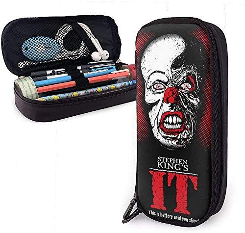 Estuche Lápices Stephen King's Unisex Child Pencil Case Pen Box Zippered Stationery Bag Canvas...