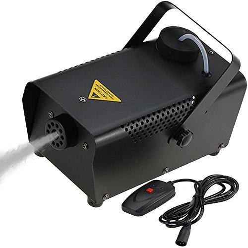 Tomshine Máquina de Niebla, Con Cable Control Remoto 400W Máquina del Humo para Halloween Función...