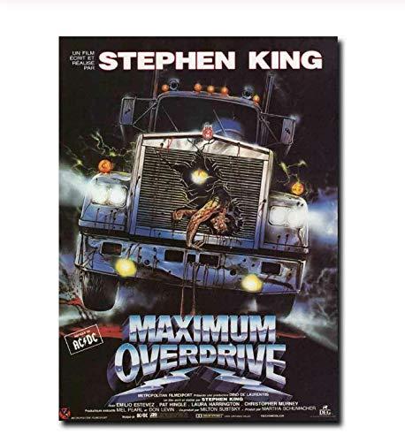 BUTUBUKUAI Máxima saturación 90'S Stephen King Película Pintura al óleo Impresiones de Carteles...