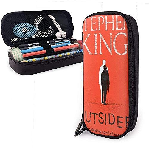 Stephen King Book-Under The Dome Estuche para lápices de cuero Estuche para lápices, organizador...