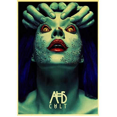 huayao American Horror Story TV Retro Poster Art Print para Sala De Estar Decoración del Hogar...