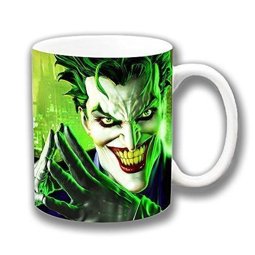 El Joker Batman película Character taza de café de cerámica regalo de Navidad calcetín de