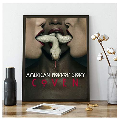 GIRDSS American Horror Story Serie de TV póster y Grabado Lienzo Pintura artística decoración de...