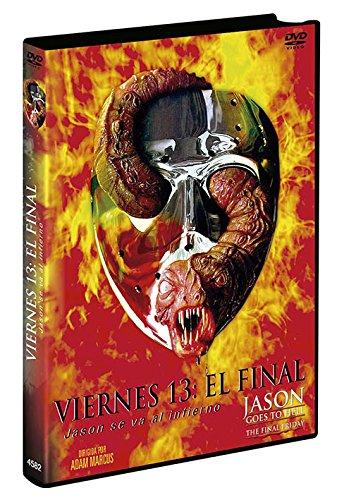 Viernes 13 Jason Se Va Al Infierno 1993 DVD Jason Goes to Hell The Final Friday