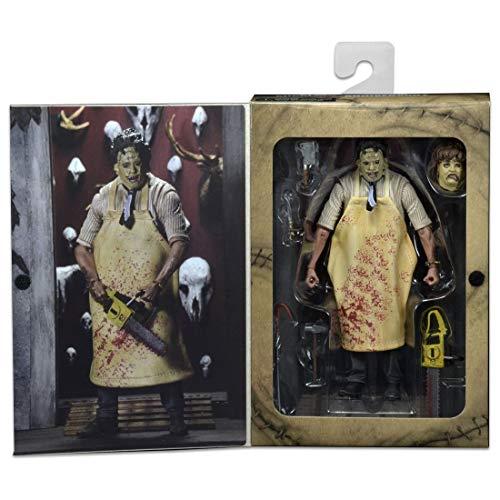 NECA La Matanza de Texas Figura Retro 40th Anniversary Ultimate Leatherface 20 cm