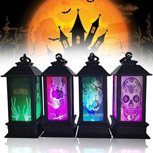 Suprcrne Luz de Noche LED de Halloween Linternas de Luz DIY Mood Accesorios de Decoración para...