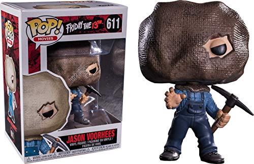 Funko - Figura Friday The 13Th-Jason W/Bag Mask - Figura Decorativa, Multicolor, 33600