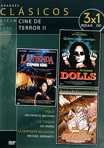 Dolls / La tienda / La serpiente voladora
