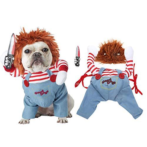 TVMALL - Disfraz de Mascota para Perros pequeños, Disfraz de Halloween, Disfraz de Perro pequeño,...