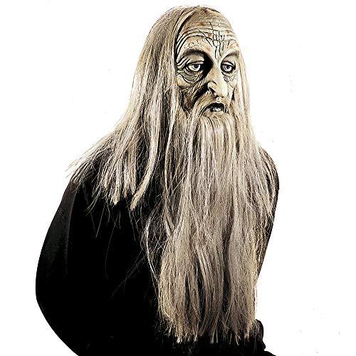 WIDMANN 83155Máscara millionär con peluca y barba, hombre, gris, talla única , color/modelo...