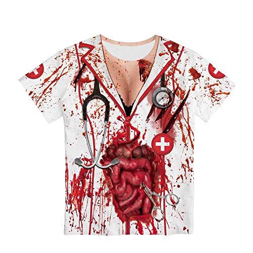 Parte Superior De La Camiseta, Cuello Redondo De Ropa De Pareja, Adecuado para Hombres Y Mujeres,...