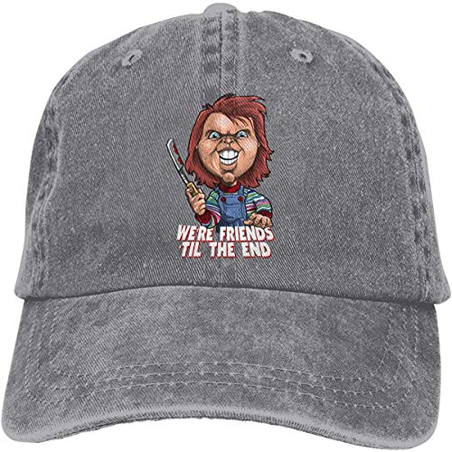 Chucky Ajustable Tour Cotton Washed Denim Sombreros Negro