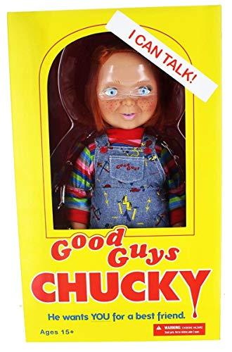 Chucky Peluche, 38 cm (Mezco Toyz MEZMEZ78004)