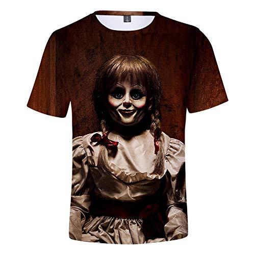 CCTXUE Camiseta T-Shirts Impresión 3D Neutro Hombres Mujeres Ventilación De Secado Rápido Suave...