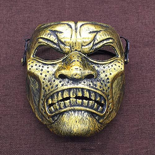 Máscara De Plástico Espartano Tema De Cine Y Televisión Máscara De Terror Máscara De Calavera...