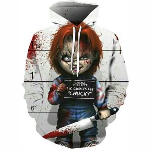 Sudaderas de Terror, Chucky, muñeco diabólico
