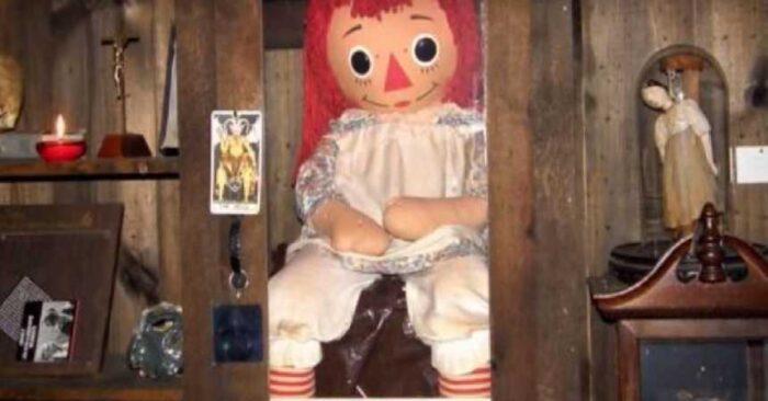 muñeca real de annabelle, museo de los warren,