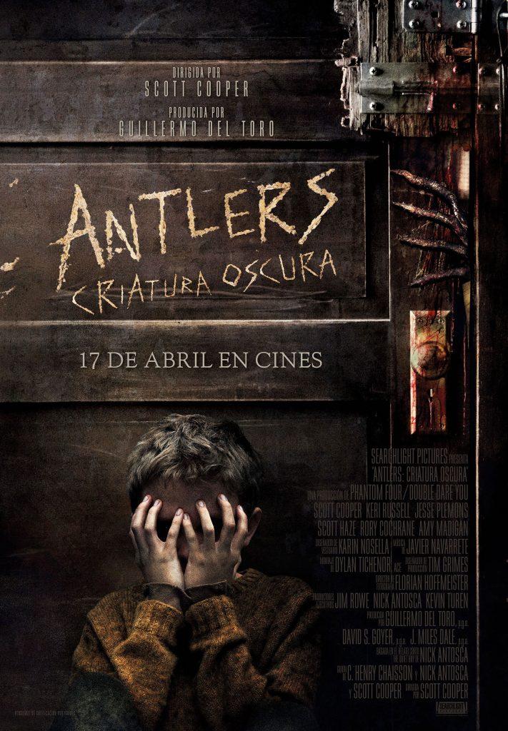 antlers criatura oscura 2021, cine de terror
