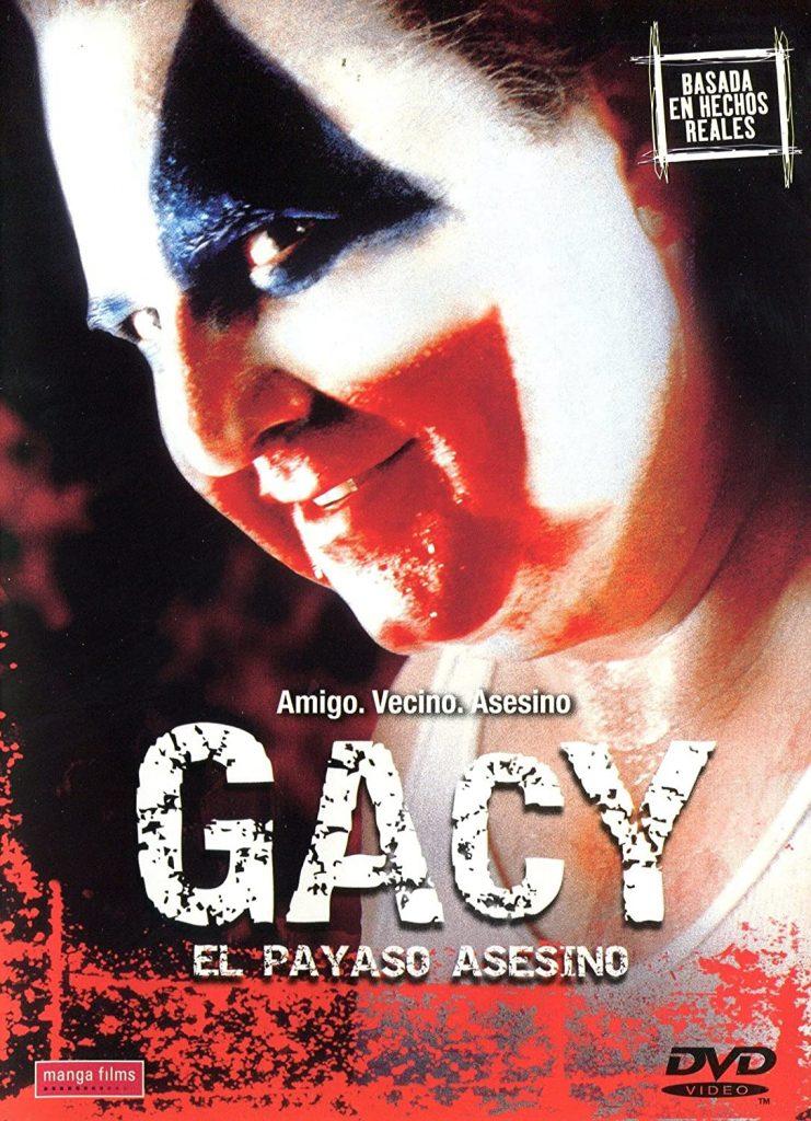 gacy la película, mejores películas de payasos asesinos,