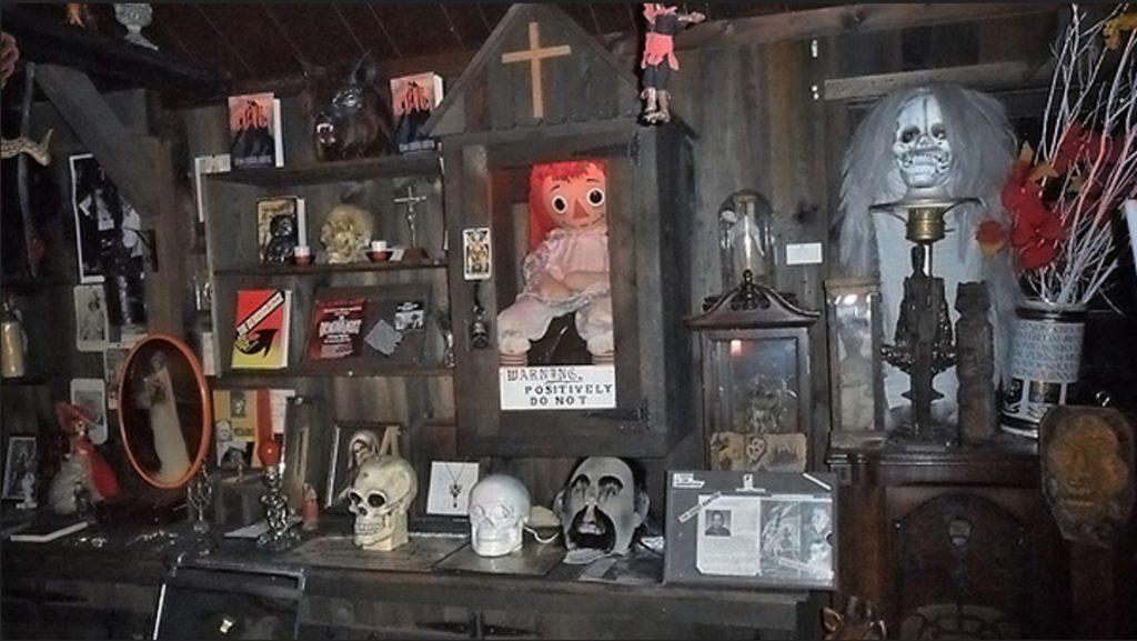 objetos malditos del museo de lo oculto connecticut