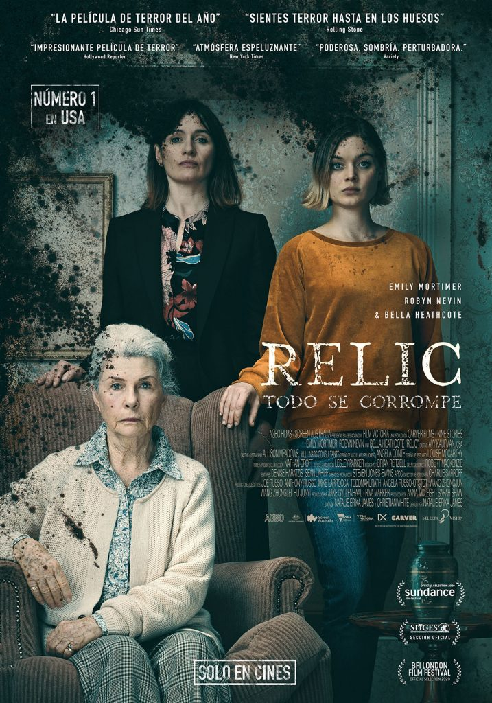 Cine de terror, estreno relic 2021
