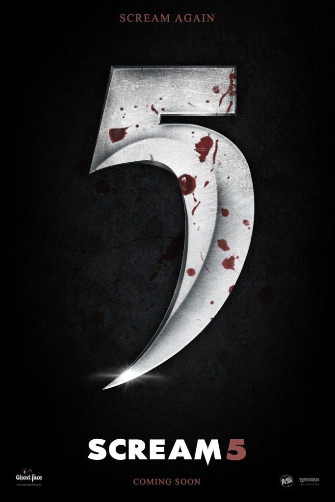 scream 5, estreno scream 5, peliculas de terror 2021, estreno 2022, neve campbell, gosthface