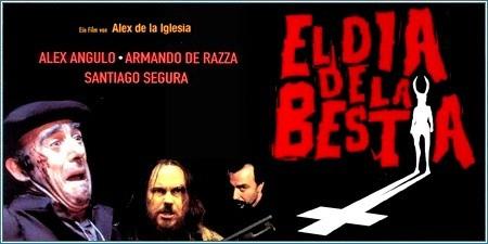 el día de la bestia, pelicula española, película terror español