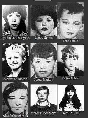 victimas de el asesino de rostov